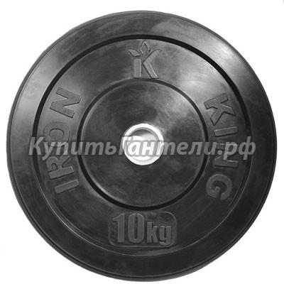 Блин для кроссфита (бампер) 10 кг (d51)