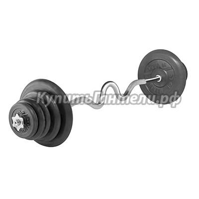 Штанга W 50 кг TITAN