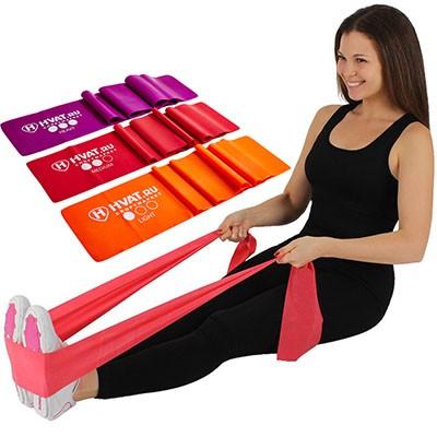 Набор для фитнеса «Латексная лента»