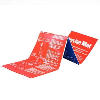 Мат гимнастический 180*60*2,5см RJ0814, красный/синий